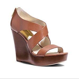 Michael Kors Elena wedge sandal - 9M